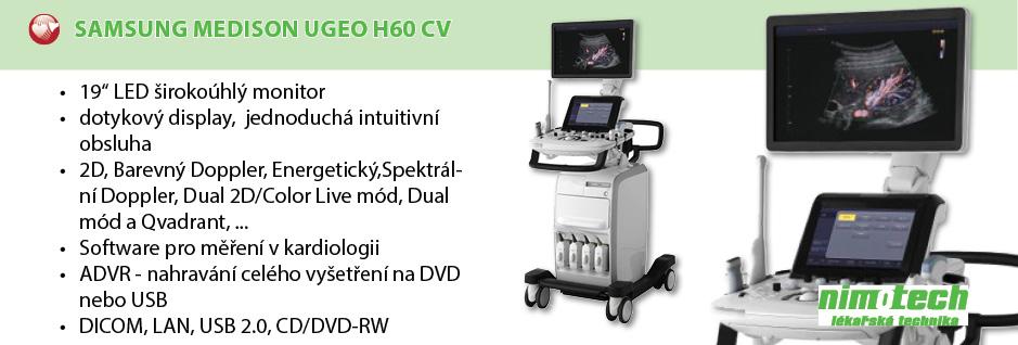 Samsung Medison UGEO H60 CV